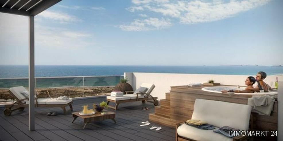Exklusive 4-Zimmer-Penthouse-Wohnungen mit Meerblick nur 300 m vom Strand - Bild 1