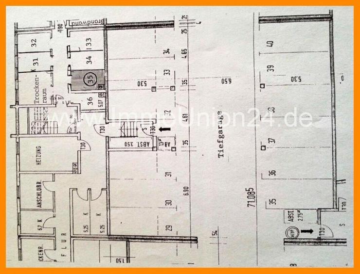 Bild 6: 7 8. 9 0 0,- für 2 Zimmer 5 7 qm MAISONETTE + herrlichen SONNEN- BALKON + Tiefgarage + SO...