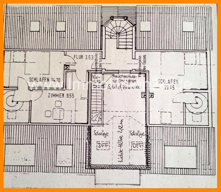 Bild 5: 7 8. 9 0 0,- für 2 Zimmer 5 7 qm MAISONETTE + herrlichen SONNEN- BALKON + Tiefgarage + SO...