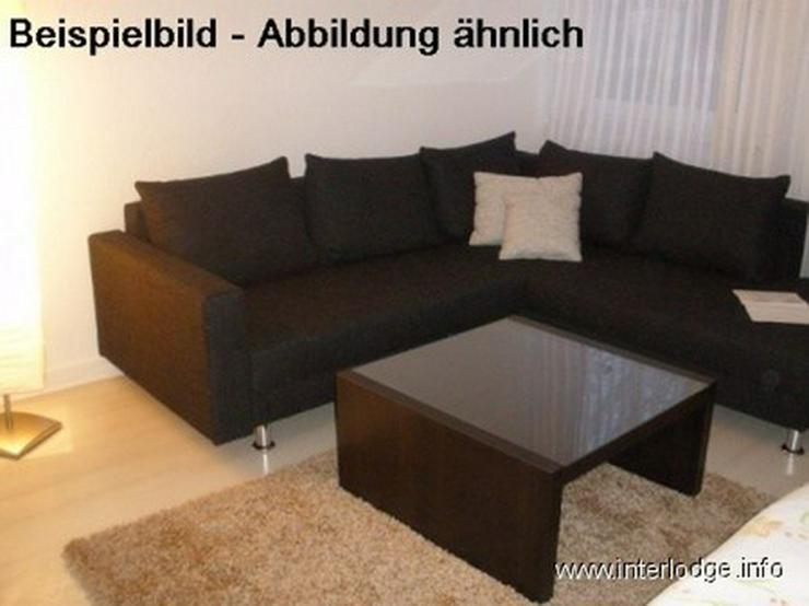 INTERLODGE Modern möblierte Wohnung in Bochum-City, Schlafzimmer mit 2 Einzelbetten. - Bild 1