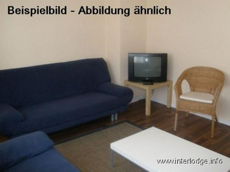 INTERLODGE Modern möblierte Wohnung in Bochum-City, Schlafzimmer mit 2 Einzelbetten. - Wohnen auf Zeit - Bild 1