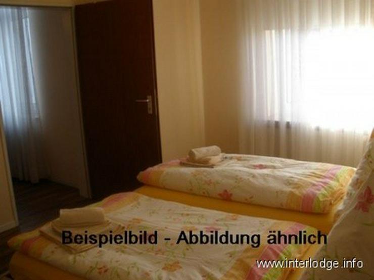Bild 2: INTERLODGE Modern möbl. Wohnung im , Bochum-City, Schlafzimmer mit 2 Einzelbetten.