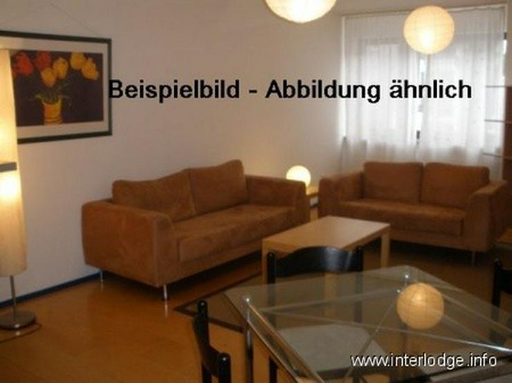 INTERLODGE Modern möblierte Wohnung mit Balkon, Bochum-City, 2 Schlafzimmer, 4 Einzelbett... - Wohnen auf Zeit - Bild 1