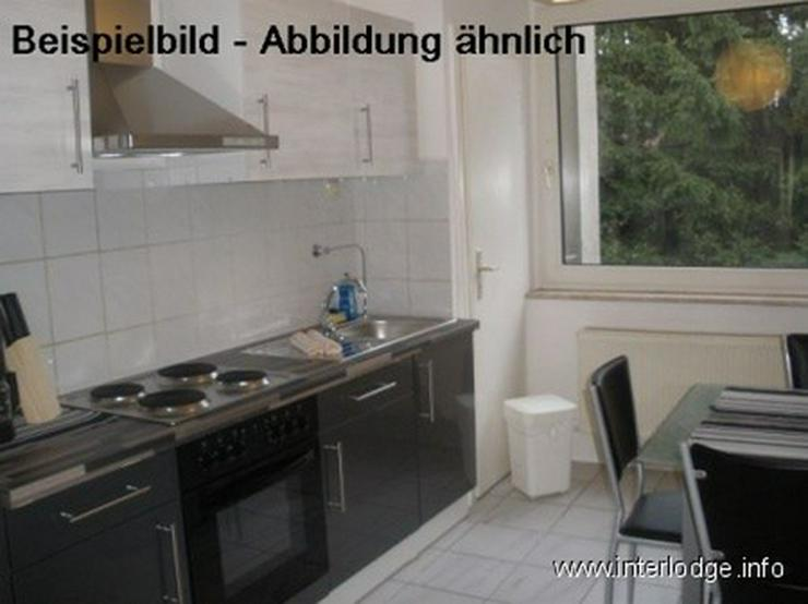 Bild 4: INTERLODGE Modern möblierte Wohnung, Bochum-City, 2 Schlafzimmer mit je 2 Einzelbetten, W...