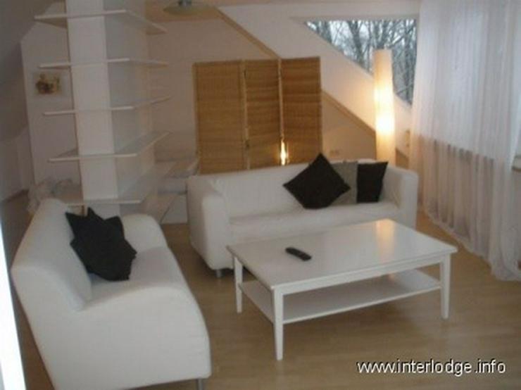 Bild 2: INTERLODGE Modern möblierte Maisonettewohung in Bochum-Querenburg.