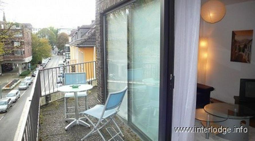 Bild 3: INTERLODGE Modern möbliertes Apartment mit großem Balkon in der Bochumer City