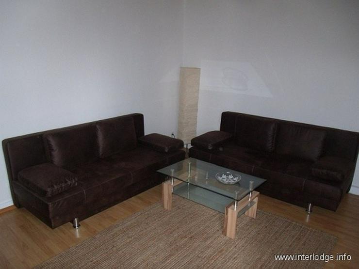 INTERLODGE Modern möbl. Wohnung, Bochum-City, 2 Schlafzimmer mit 4 Einzelbetten, Wohnküc...