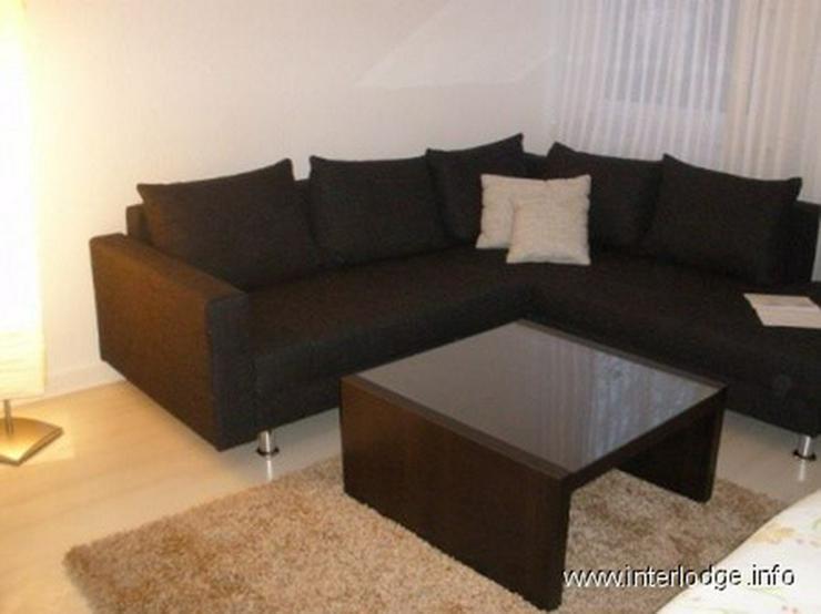 INTERLODGE Modern möbl. Wohnung, Bochum-City, 2 Schlafzimmer mit 4 Einzelbetten, Wohnküc... - Bild 1