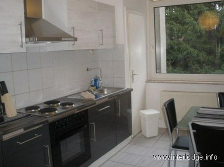Bild 4: INTERLODGE Modern möbl. Wohnung, Bochum-City, 2 Schlafzimmer mit 4 Einzelbetten, Wohnküc...