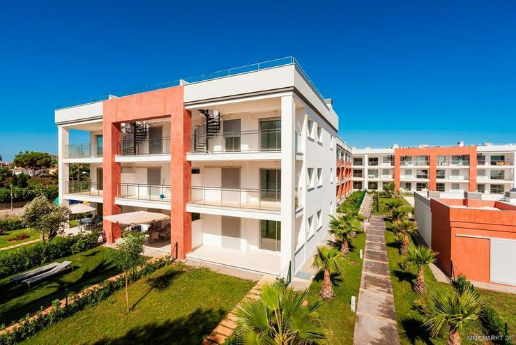 Bild 2: Exklusive Erdgeschoss-Appartements in Anlage am Strand