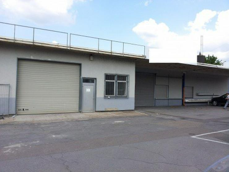 Trockene, saubere Arbeitshalle in Autobahnnähe - Gewerbeimmobilie mieten - Bild 1