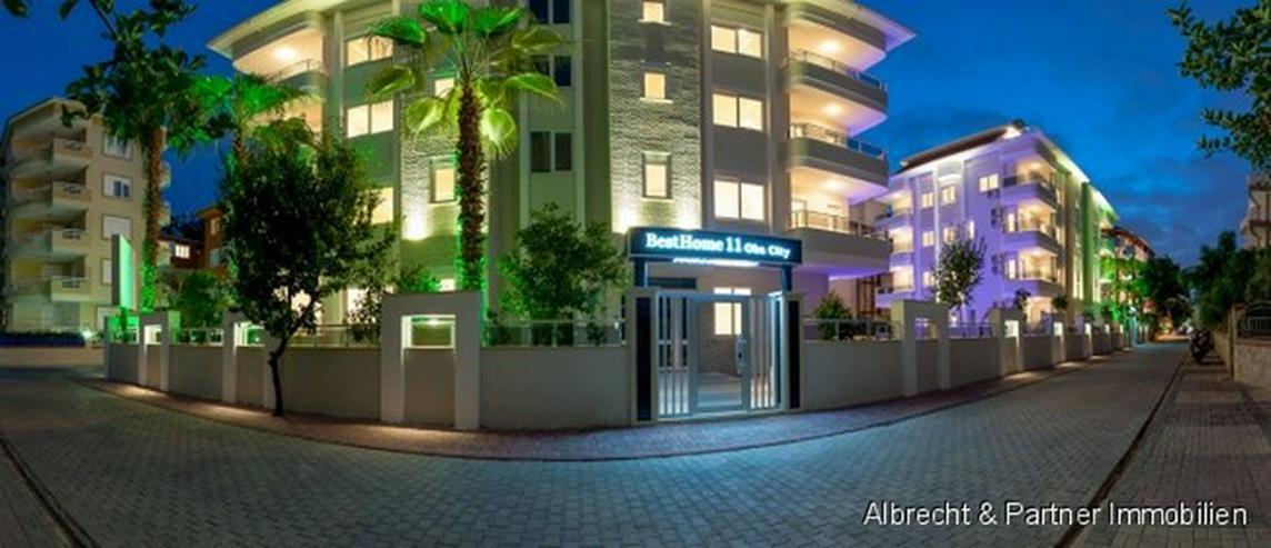 Bild 5: Luxus Wohnungen im Stadtzentrum von Alanya - Oba zu verkaufen