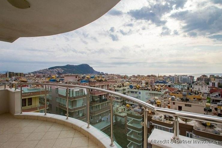 Möblierte Luxus 3-Zimmer-Wohnung mit Meerblick am Kleopatra-Strand - Wohnung kaufen - Bild 1