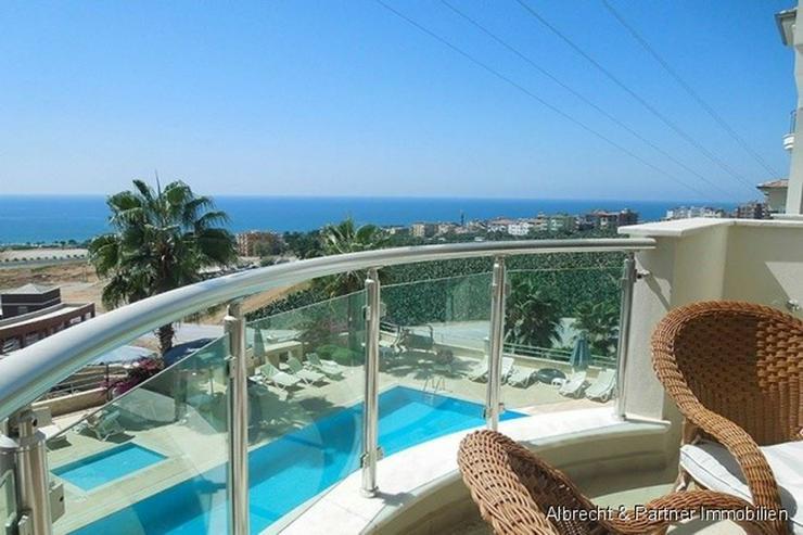 Bild 5: Möblierte Luxus-Meerblick Wohnung am Kleopatra Strand!