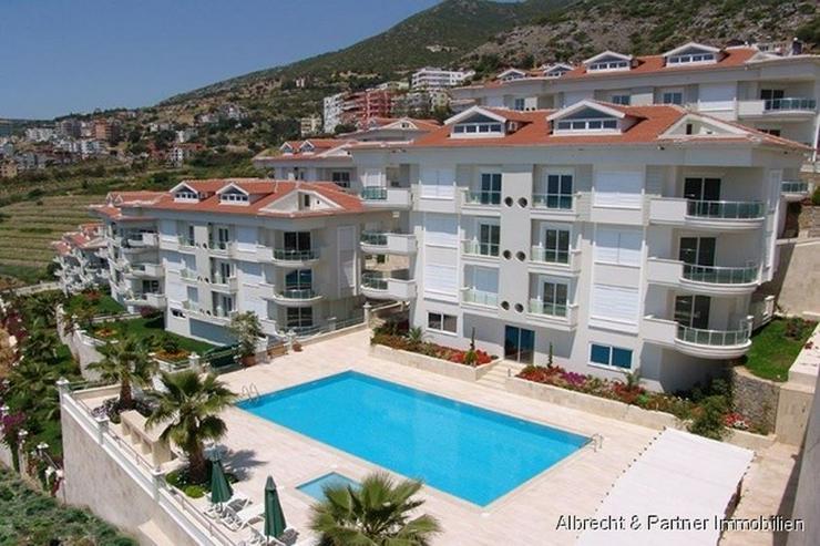 Möblierte Luxus-Meerblick Wohnung am Kleopatra Strand! - Wohnung kaufen - Bild 1