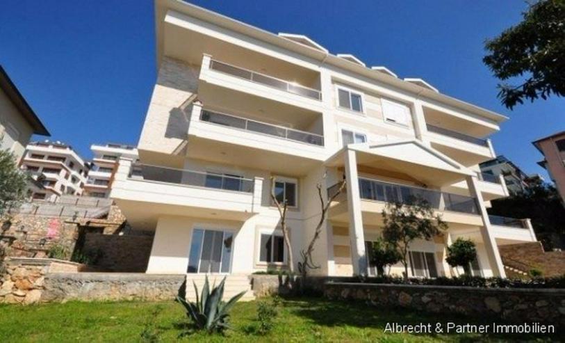 Hochwertige Meerblick-Wohnung in Alanya zu verkaufen - Wohnung kaufen - Bild 1