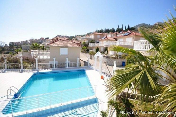 Günstiges Einfamilienhaus mit 3 Zimmer in Tepe / Alanya zu verkaufen - Haus kaufen - Bild 1