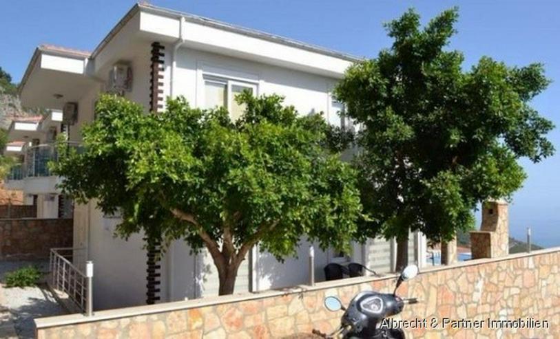 Bild 6: Traumhafte Meerblick Villa mit 176qm in Alanya Tepe zu verkaufen!