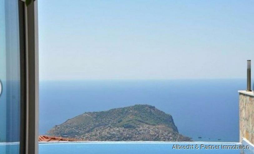 Bild 5: Traumhafte Meerblick Villa mit 176qm in Alanya Tepe zu verkaufen!