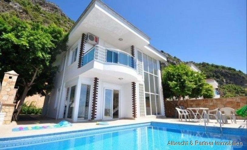Traumhafte Meerblick Villa mit 176qm in Alanya Tepe zu verkaufen! - Haus kaufen - Bild 1
