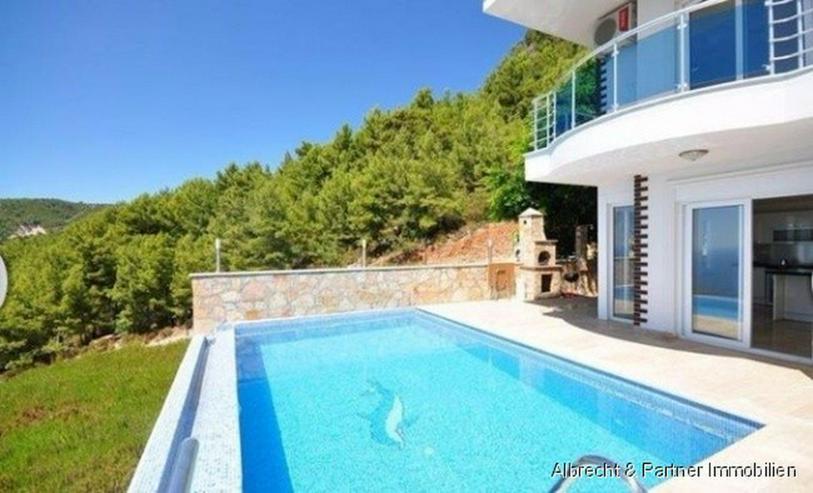 Bild 2: Traumhafte Meerblick Villa mit 176qm in Alanya Tepe zu verkaufen!