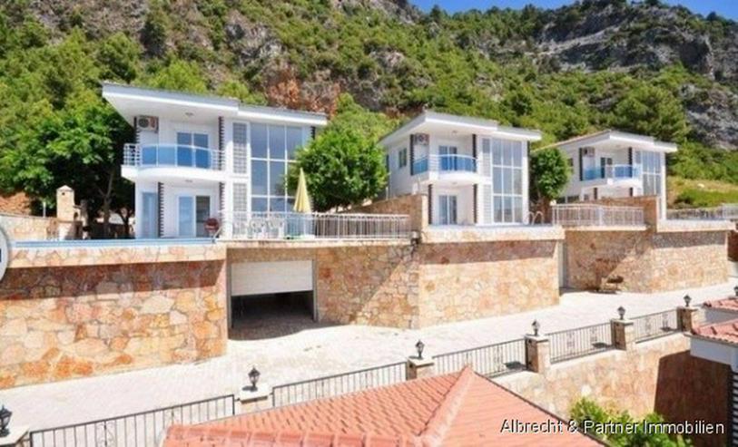 Bild 3: Traumhafte Meerblick Villa mit 176qm in Alanya Tepe zu verkaufen!