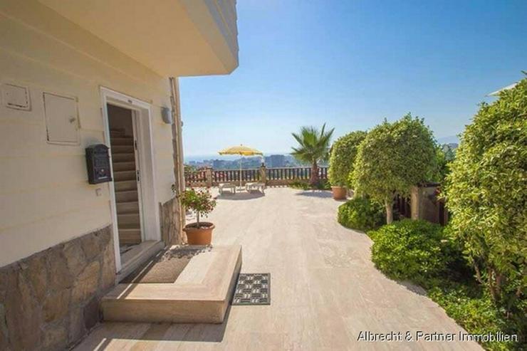 Bild 5: Traumhaus in Alanya mit einem herrlichen Ausblick auf das Mittelmeer in Kargicak - Alanya