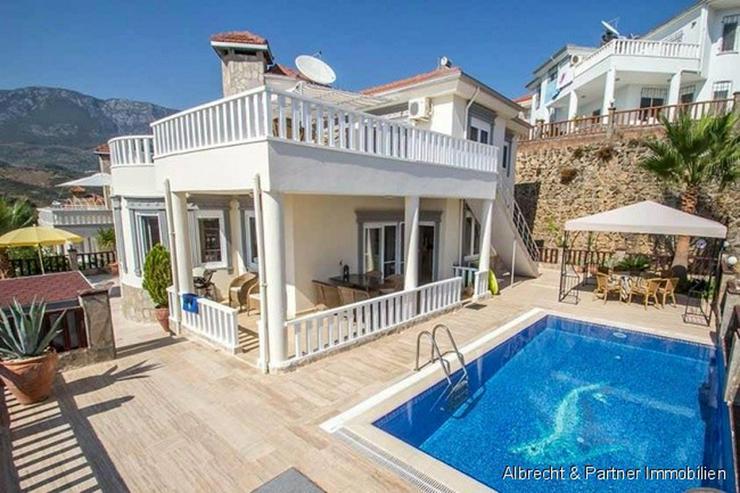 Traumhaus in Alanya mit einem herrlichen Ausblick auf das Mittelmeer in Kargicak - Alanya - Haus kaufen - Bild 1