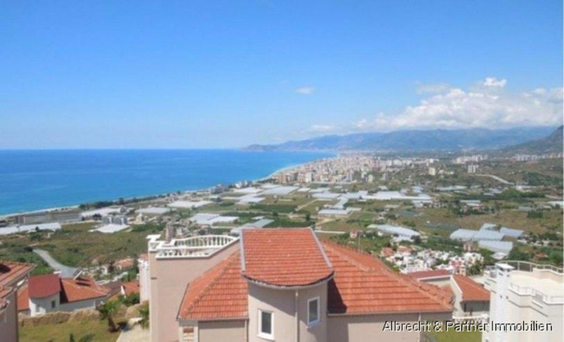 Spektakuläre Villa in Kargicak / Alanya mit einem Panorama Meerblick - Bild 1
