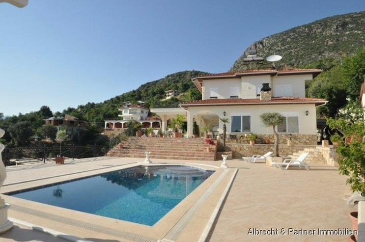 Spektakuläre Villa in Kestel - Alanya zu verkaufen! - Haus kaufen - Bild 1
