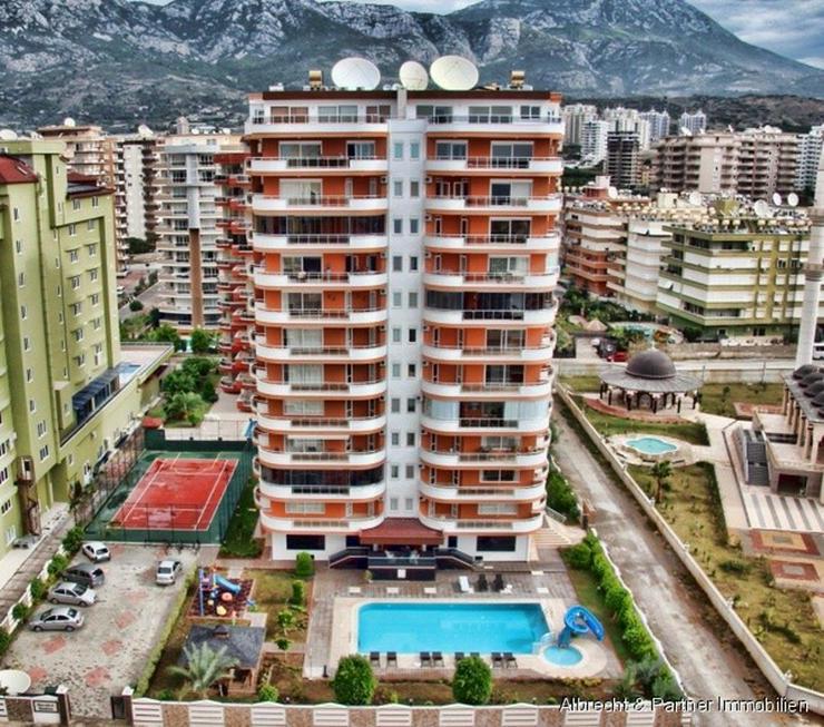 Möblierte Luxus Penthaus-Wohnung in Alanya Mahmutlar - Wohnung kaufen - Bild 1