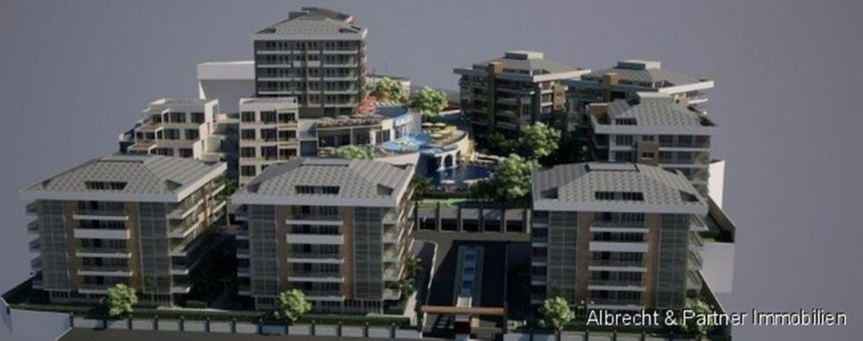 Bild 6: Luxuskomplex mit Wohnungen in Alanya - Cikcilli mit einem spektakulären Panorama-Ausblick