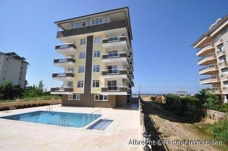 Meerblick Wohnungen in Alanya Kestel direkt am Strand günstig zu verkaufen! - Wohnung kaufen - Bild 1