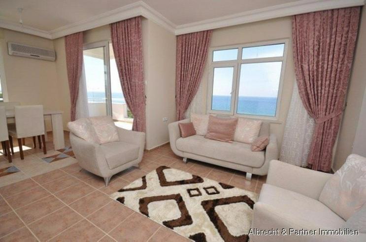 Bild 5: Meerblick Wohnungen in Alanya Kestel direkt am Strand günstig zu verkaufen!