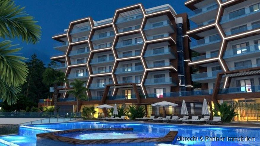 Bild 2: 5* Komplex direkt am Strand mit Meerblick Wohnungen in Kargicak-Alanya