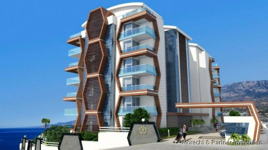 5* Komplex direkt am Strand mit Meerblick Wohnungen in Kargicak-Alanya - Wohnung kaufen - Bild 1
