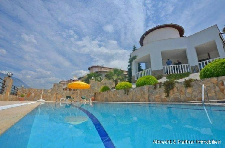 Schöne Villa in Kargicak-Alanya - großartige Lage, fantastischer Ausblick! - Haus kaufen - Bild 1