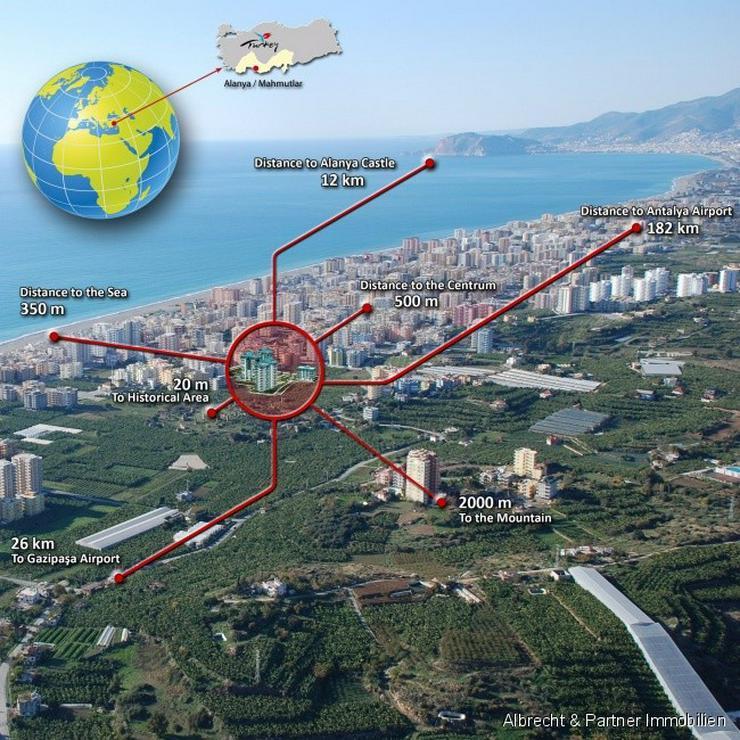 Bild 14: Luxus Wohnungen in Mahmutlar-Alanya - Einziehen und bequem abzahlen!!
