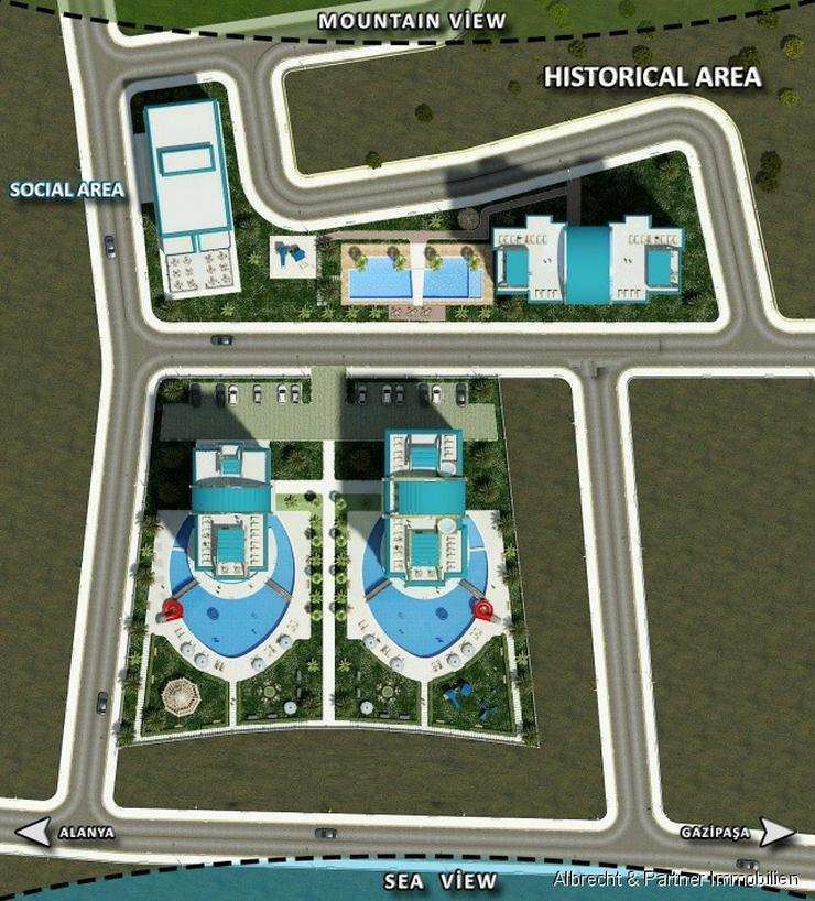 Bild 2: Luxus Wohnungen in Mahmutlar-Alanya - Einziehen und bequem abzahlen!!