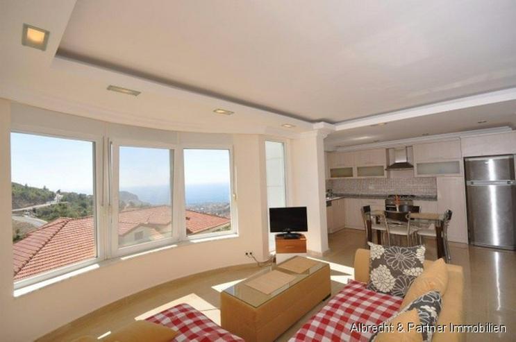 Bild 4: 3 Zimmer Meerblick Wohnung in Tepe - Alanya