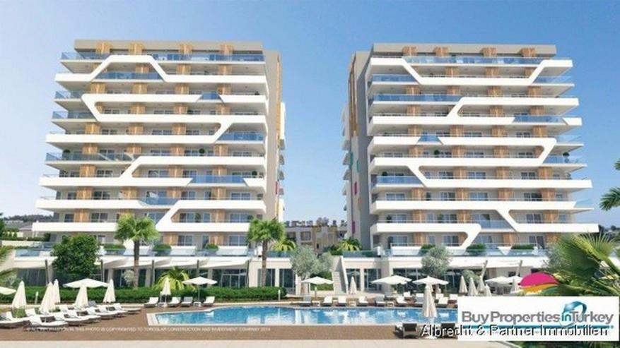 NEUBAU PROJEKT in AVSALLAR - Moderne Luxus Meerblick Wohnungen zu verkaufen! Langfristiger... - Wohnung kaufen - Bild 1