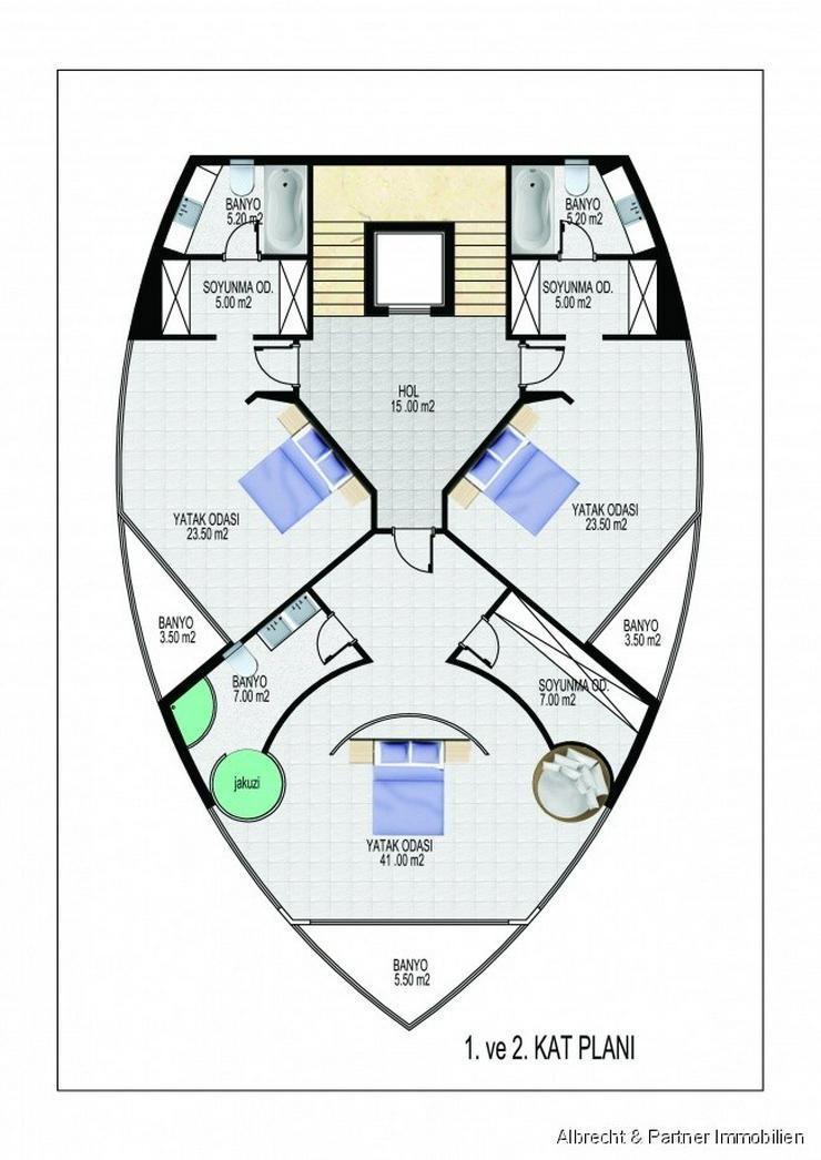 Bild 8: Moderne LUXUS Traumvilla in Kargicak - Alanya zu verkaufen