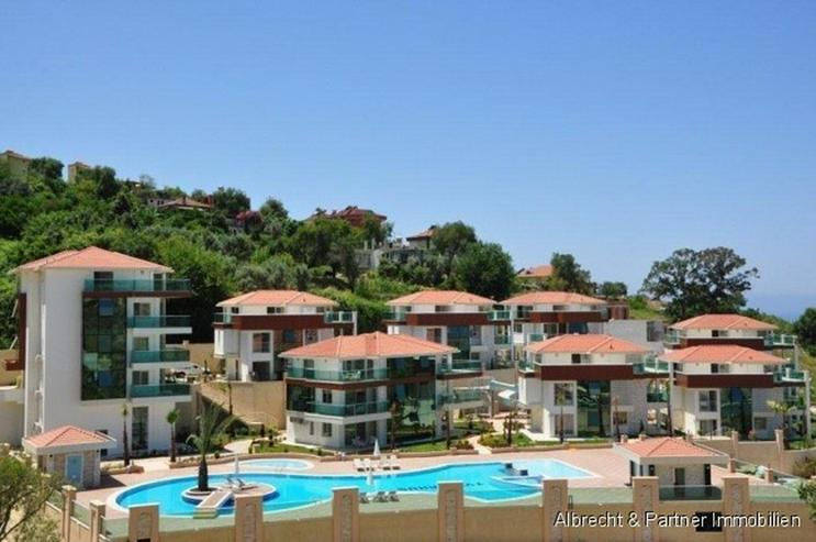 Luxus möblierte High End Maisonette-Wohnungen in Alanya-Kargicak - Wohnung kaufen - Bild 1