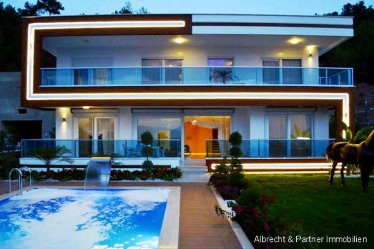 Alanya - Exotische Villa mit Panoramablick auf das Meer - Haus kaufen - Bild 1