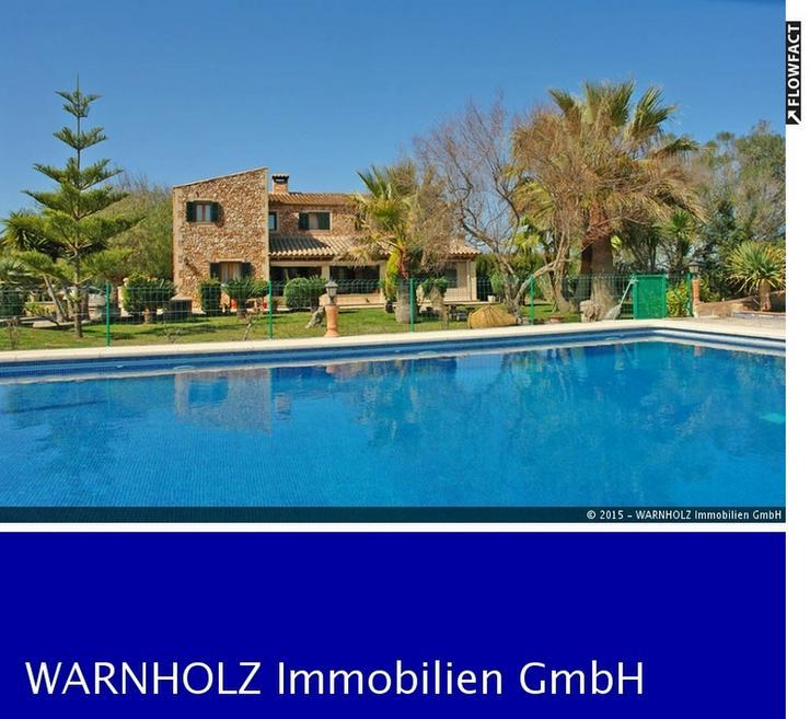 Luxus-Ferienhaus mit großem Pool, Terrasse und Garten - Haus kaufen - Bild 1