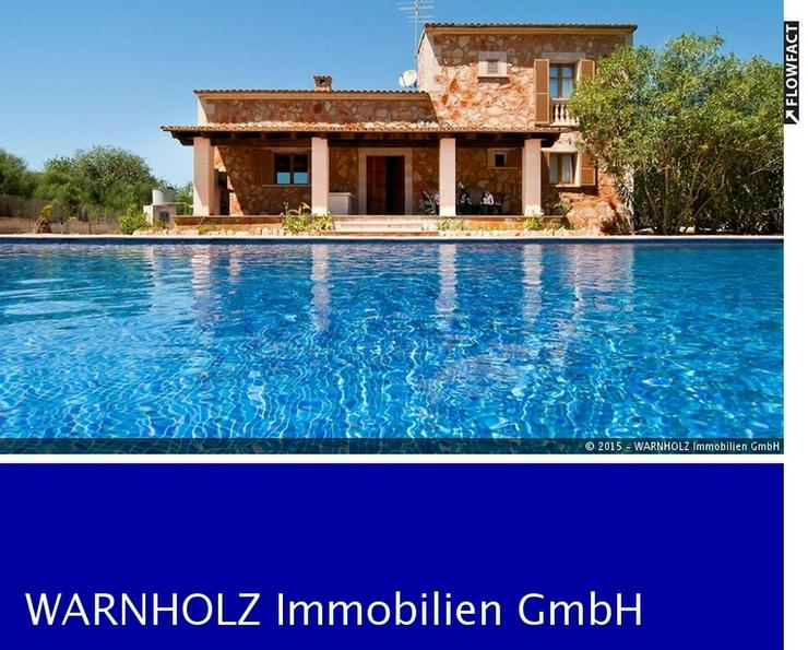 Landhaus mit Pool und Garten in Campos
