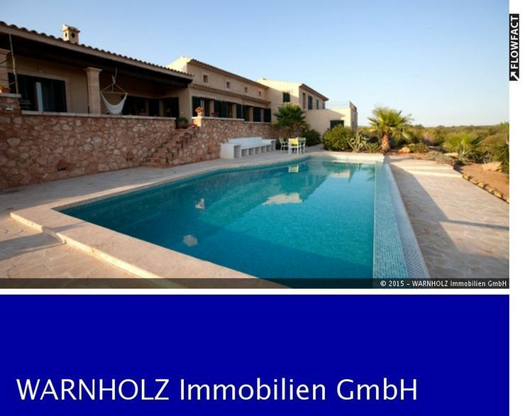 Rustikales Landhaus mit Pool, Ses Salines - Haus kaufen - Bild 1