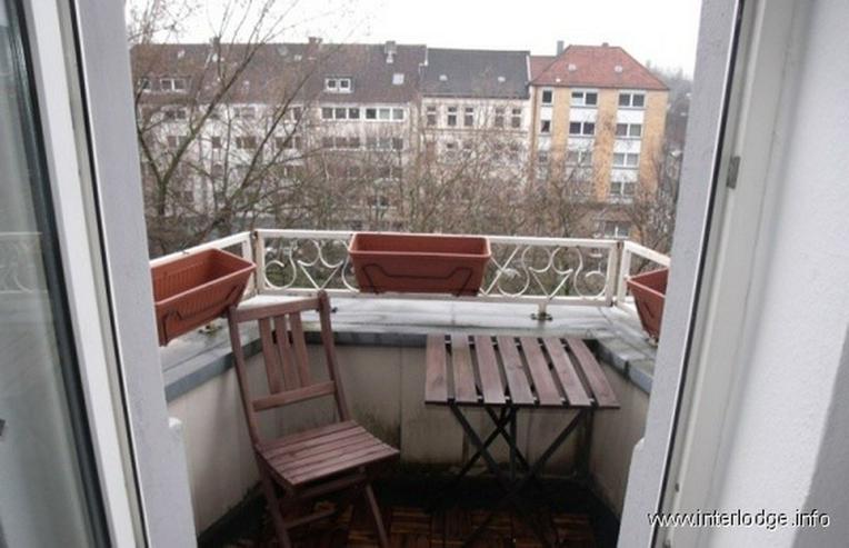 Bild 6: INTERLODGE Essen-Innenstadt: Komplett möbliertes City-Apartment mit Balkon.