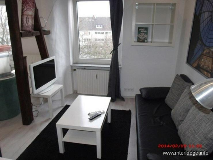 Bild 3: INTERLODGE Essen-Innenstadt: Komplett möbliertes City-Apartment mit Balkon.