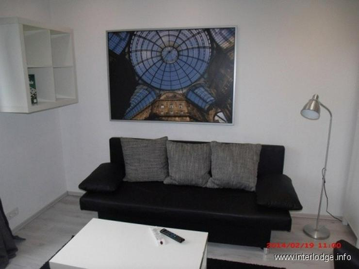 INTERLODGE Essen-Innenstadt: Komplett möbliertes City-Apartment mit Balkon. - Wohnen auf Zeit - Bild 1